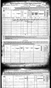 U.S. Federal Census - 1880 Schedules of Defective, Dependent, and Delinquent Classes pg1